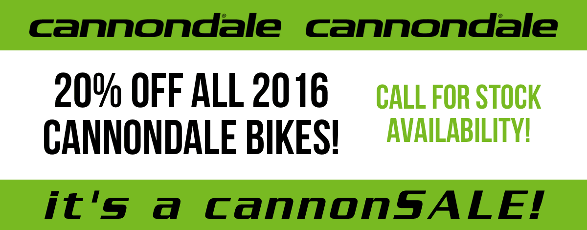 20% off Cannondale